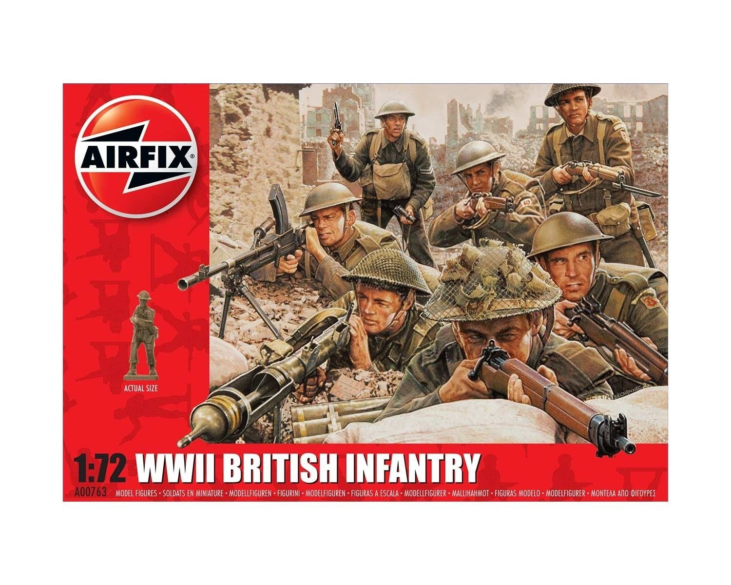 WWII BRITISH INFANTRY N. EUROPE