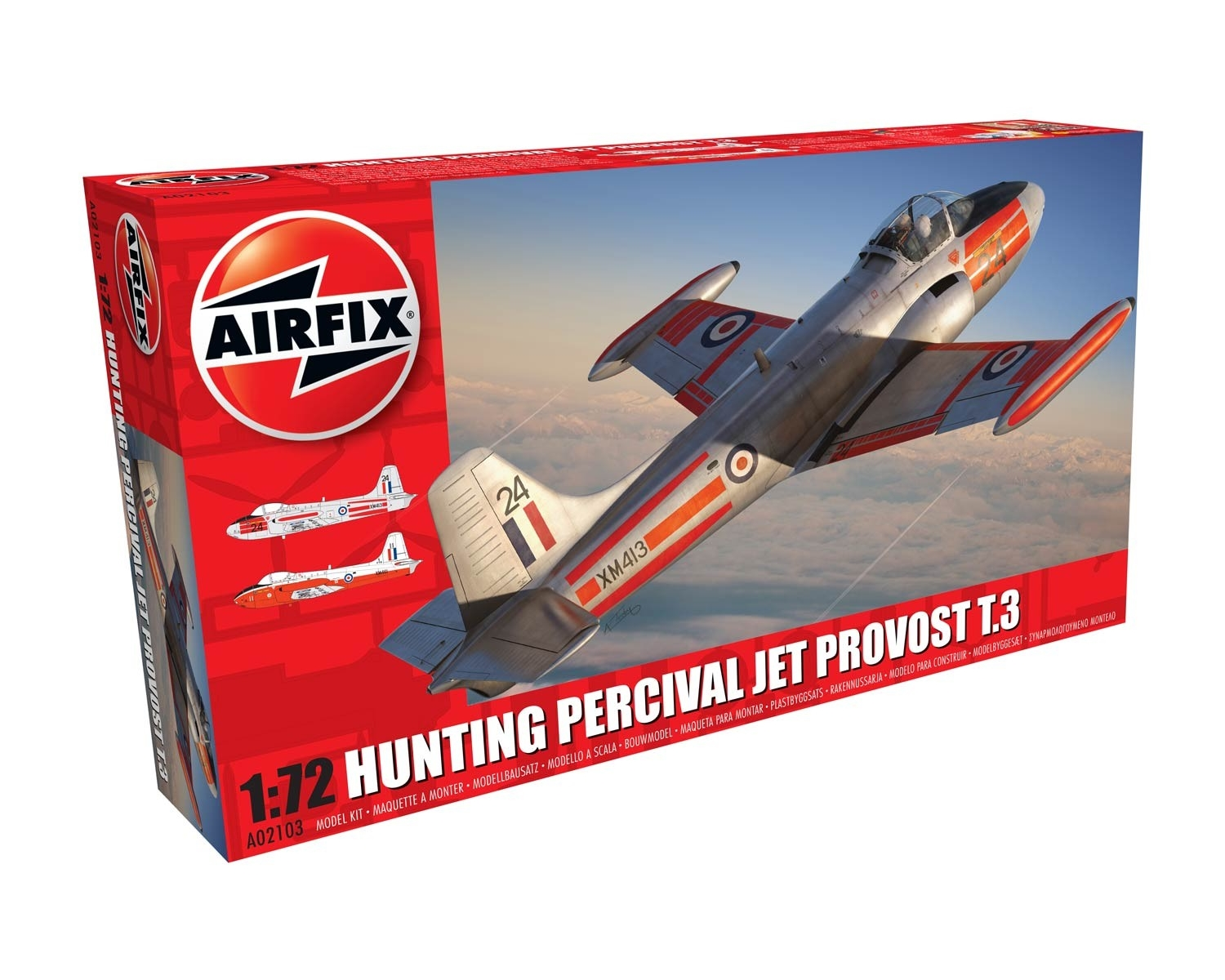 Airfix 02103 -  HUNTING PERCIVAL JET PROVOST T.3