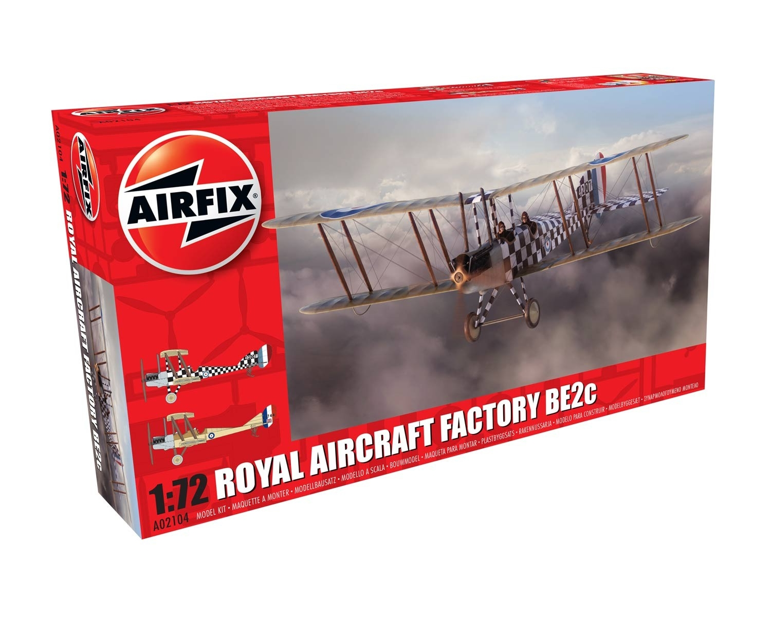Airfix 02104 - ROYAL AIRCRAFT FACTORY BE2C
