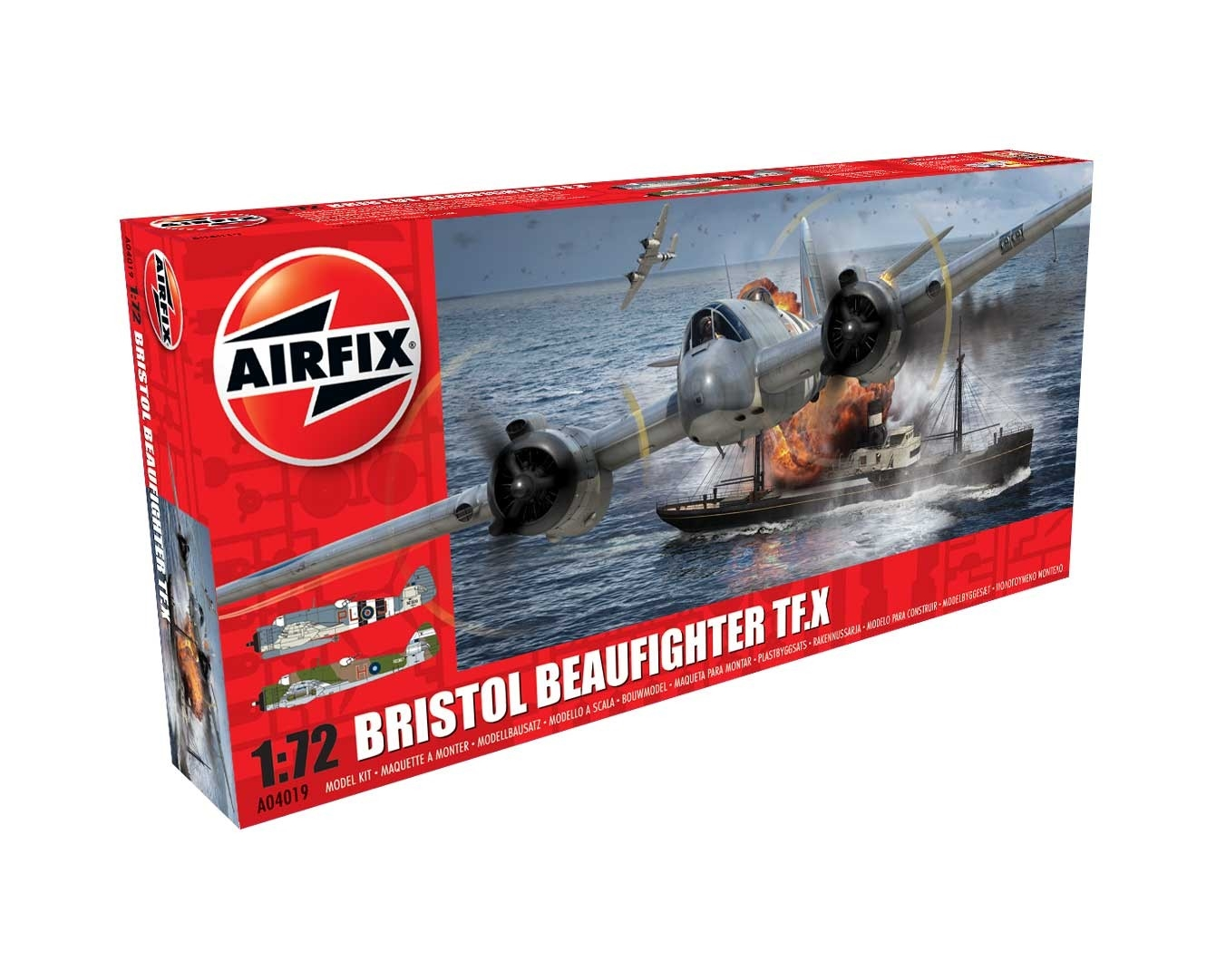 Airfix 04019 - BRISTOL BEAUFIGHTER MK X