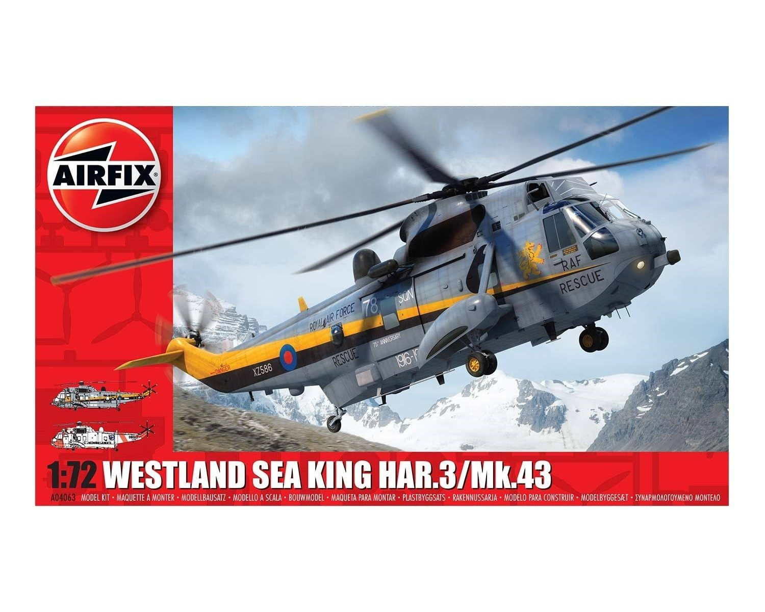 WESTLAND SEA KING HAR. 3/MK. 43