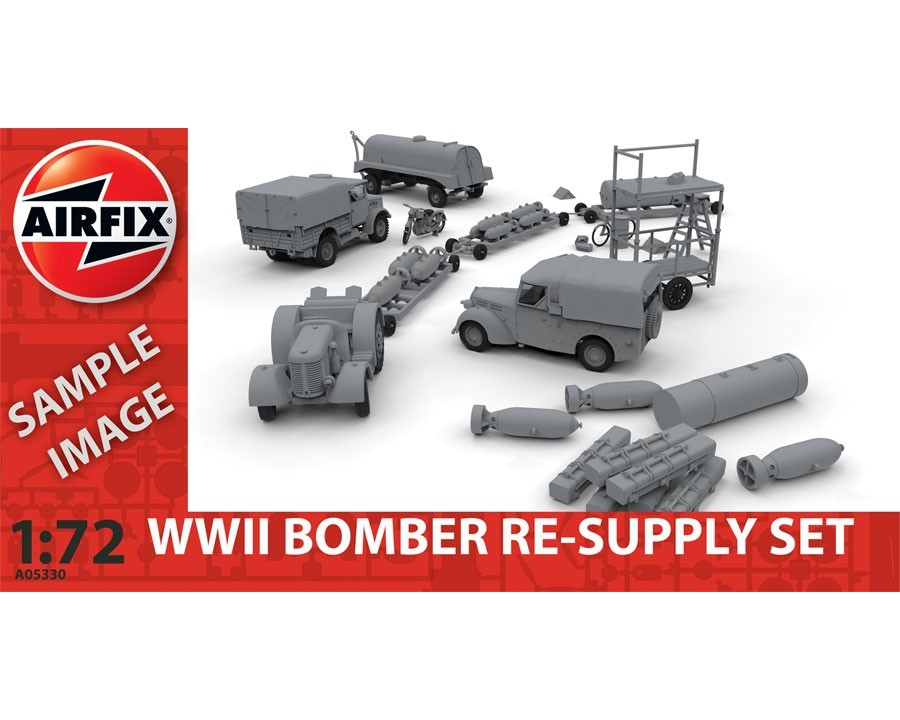 Airfix 05330 - WWII BOMB.RE-SUPPLY SET 1:72