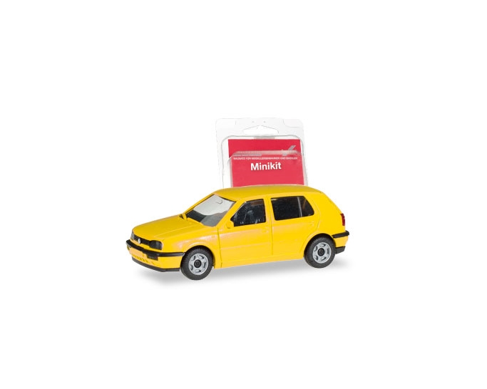 VW GOLF III, GEEL (MINI KIT)