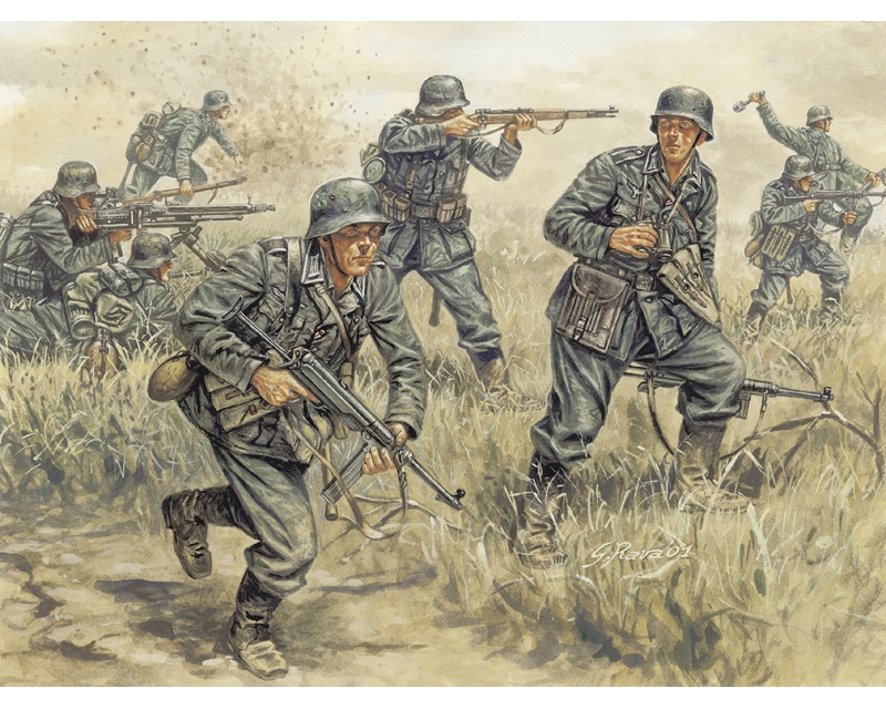 WWII- GERMAN INFANTRY
