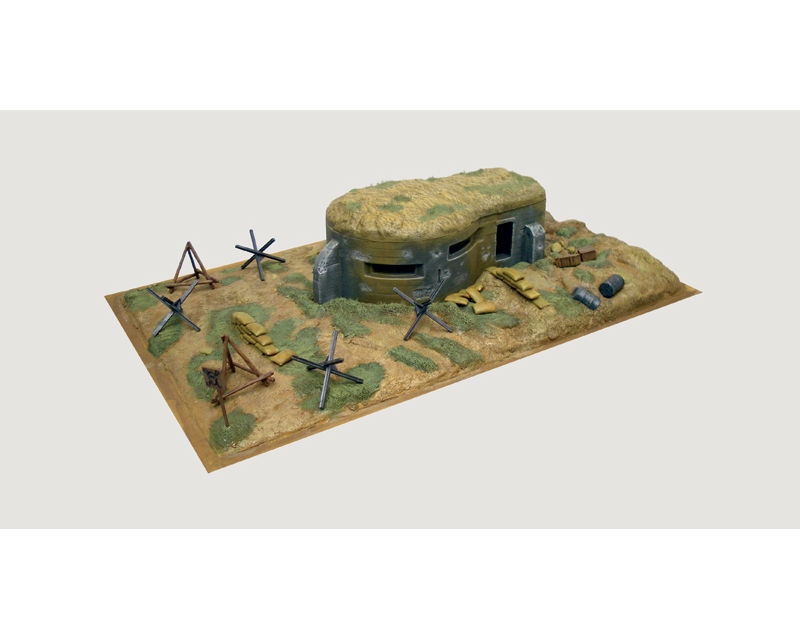 Italeri 6070 - WWII-BUNKER AND ACCESSORIES