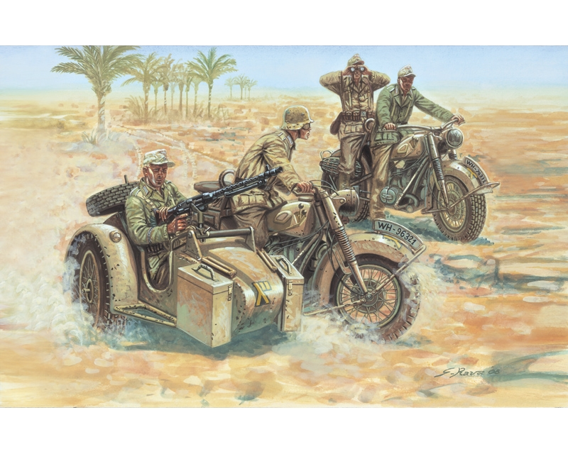 WWII- GERMAN MOTORCYCLES