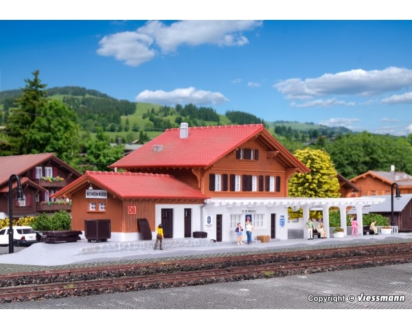 Kibri 37410 - N STATION SCHOENRIED