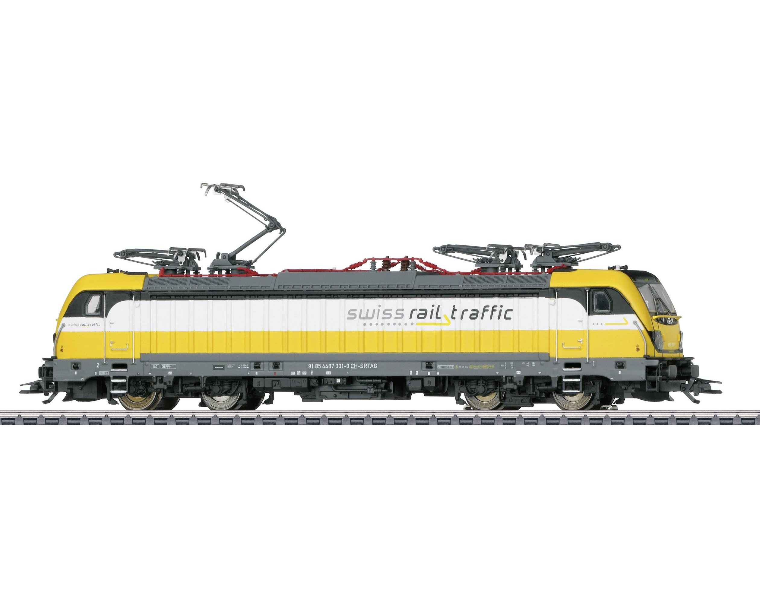 Märklin 36635 E-LOC BR 487 SWISS RAIL TRAFFIC AG EP. VI