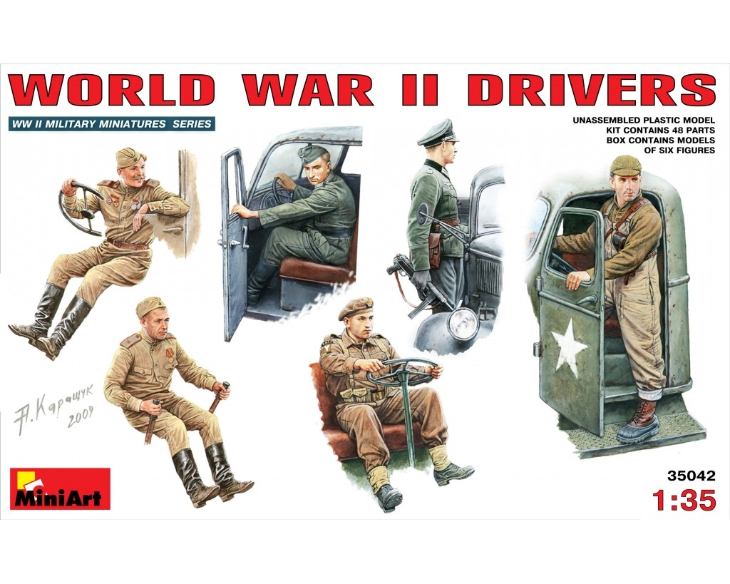 WW II DRIVERS