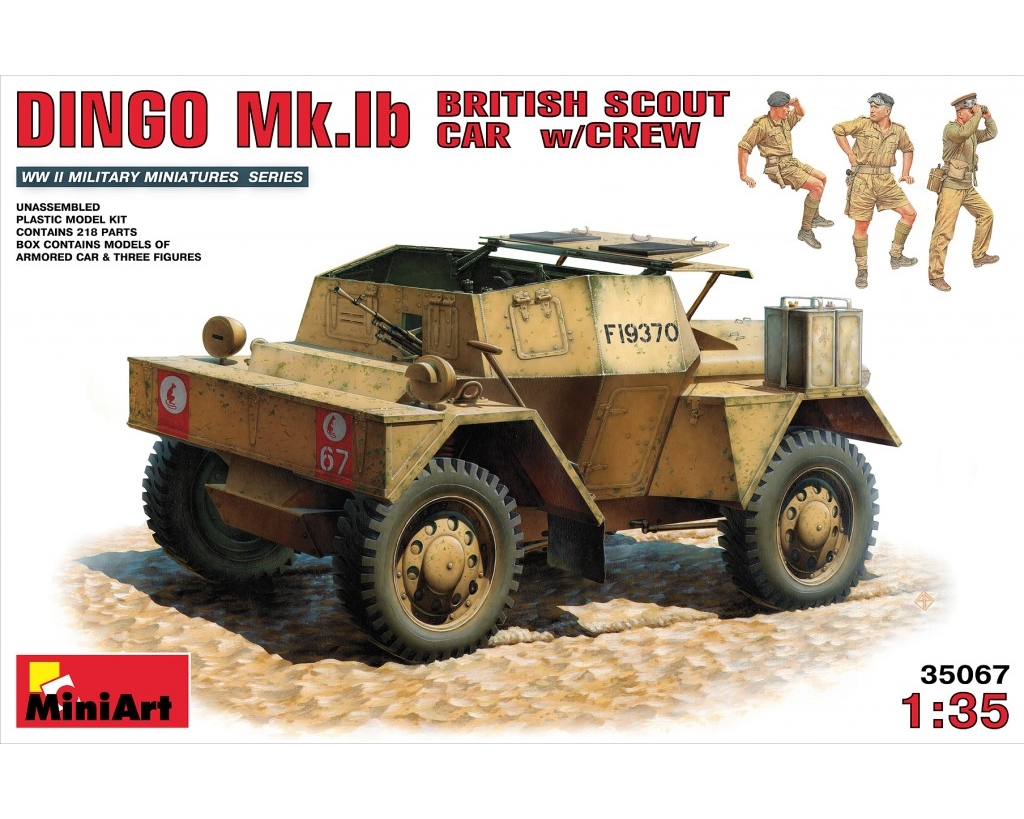 BRITISH SCOUT CAR DINGO MK. 1B