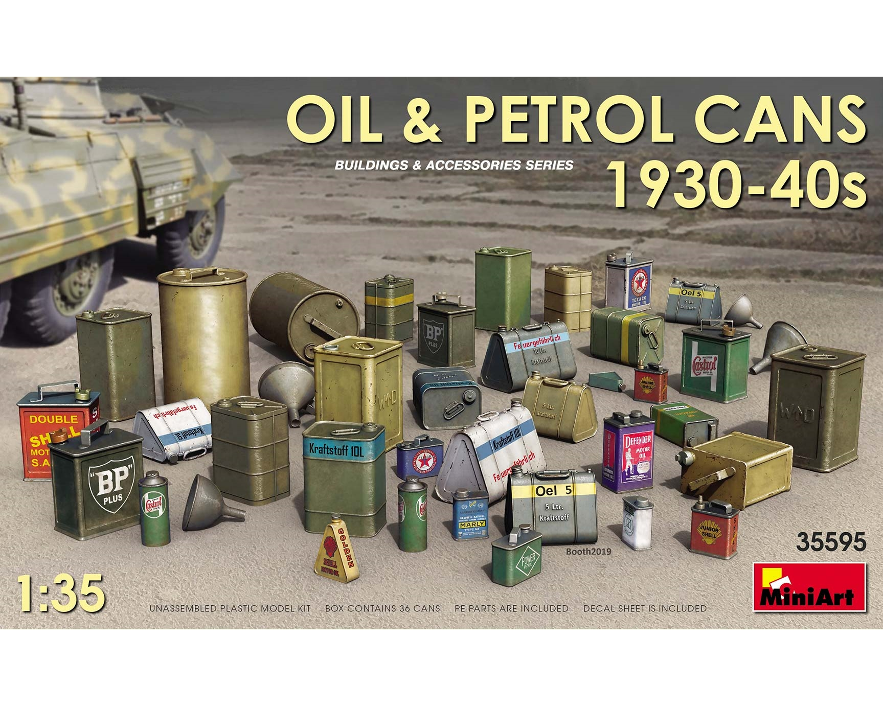 OIL & PETROL CANS 1930-1940