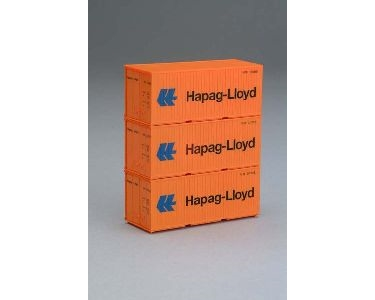 3 CONTAINERS 20' HAPAG LLOYD