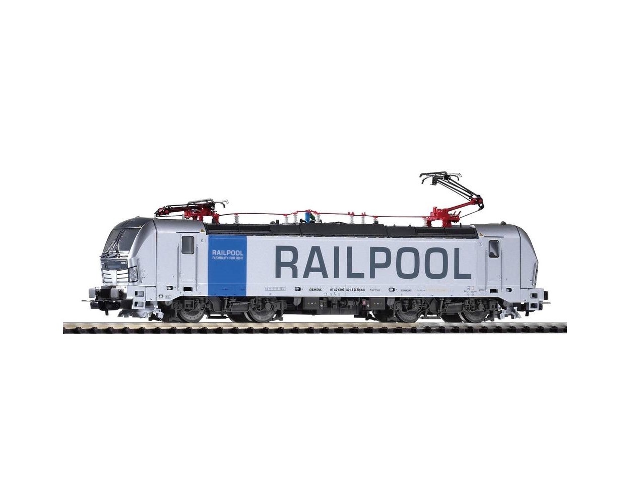E-LOC VECTRON 193 RAILPOOL VI