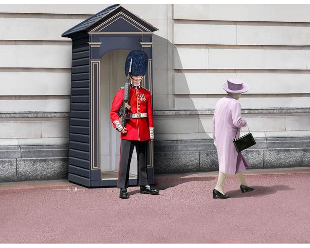 Revell 2800 - QUEEN'S GUARD