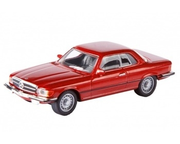 MERCEDES BENZ 450 SLC COUPE, ROOD