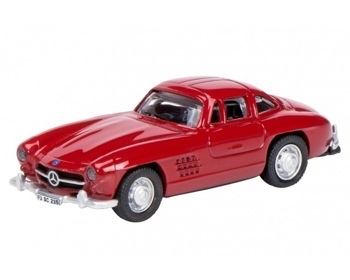 MERCEDES BENZ 300 SL COUPE, ROOD