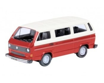 VW T3 BUS, ROOD-WIT