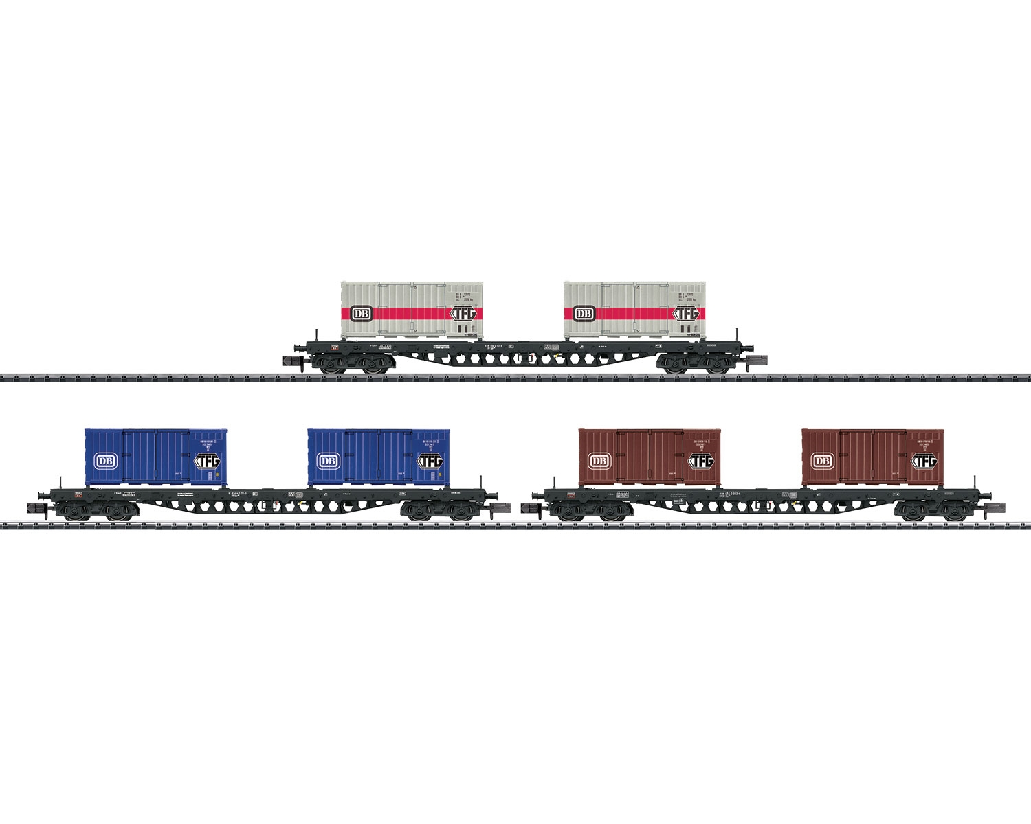 WAGENSET CONTAINERTRANSPORT DB