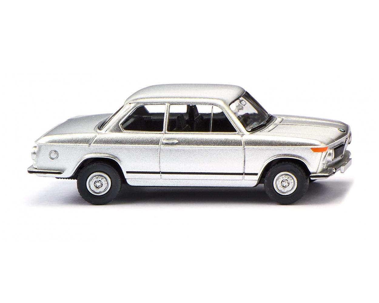 Wiking 018306 - BMW 2002 - SILBER METALLIC